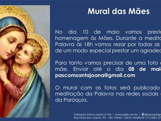 Mural das mães! Participe!!!