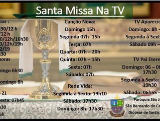 Santa Missa na TV