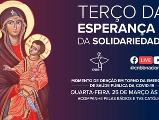 CNBB convida toda Igreja no Brasil para rezar contra o avanço do coronavírus amanhã, às 15h30