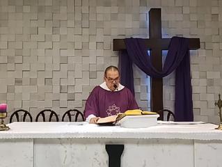 Transmissão Missa 4° Domingo da Quaresma 22/03