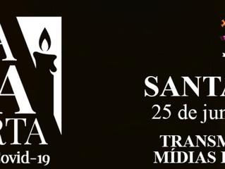 Diocese de Santo André realiza missa em memória das 500 mil vítimas da Covid-19 nesta sexta (25)