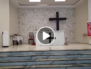Transmissão Santa Missa - 21/06/2020