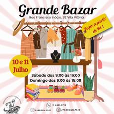 Participe do nosso Bazar!!!