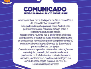 COMUNICADO - Região Santo André Leste