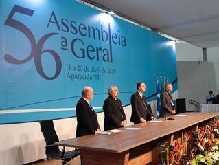Encerra-se a 56ª Assembleia Geral da CNBB, em Aparecida (SP)