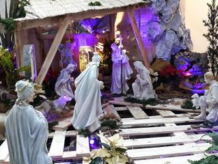 Mantemos a tradição do presépio em nossas casas!!!
