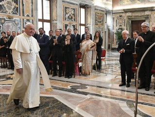 Papa: as religiões não são a causa da violência