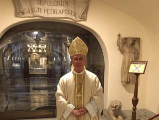 Agradecimento de Dom Pedro por ocasião de seu aniversário sacerdotal