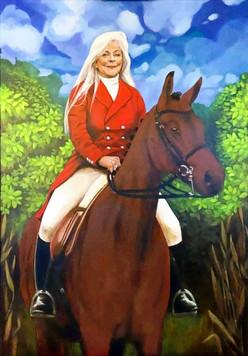 Portrait painting commission 2020