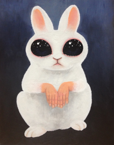 Creepy Or Cute Bunny.