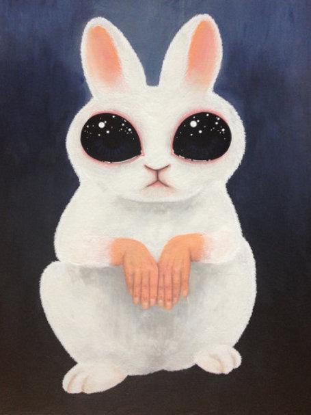 Creepy or Cute 1 Rabbit (original)