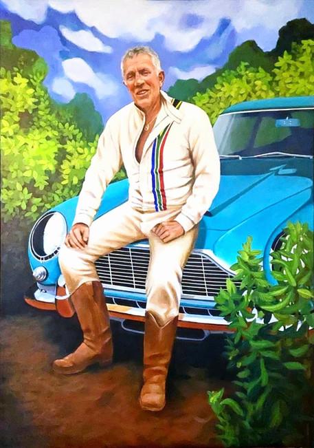Portrait commissioned art