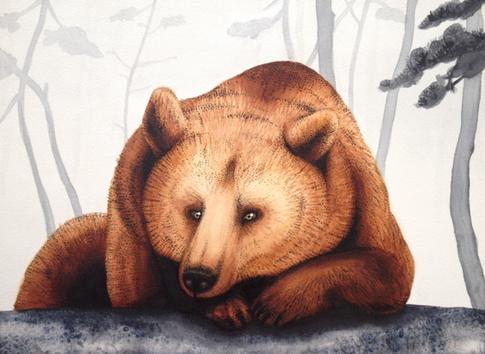 Art commission bear