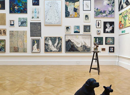 Exhibiting at the RA Summer Exhibition in London, UK