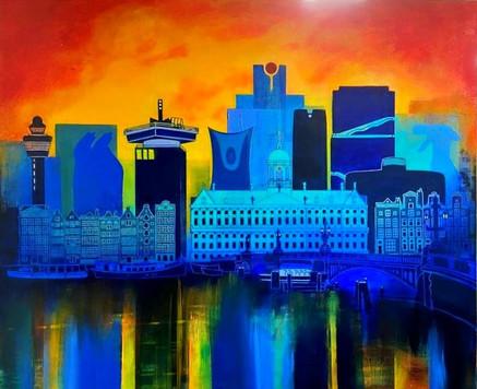 Skyline art commission