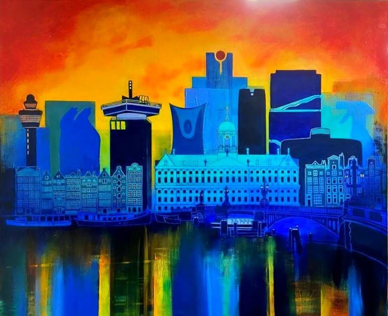 Skyline commissioned artwork