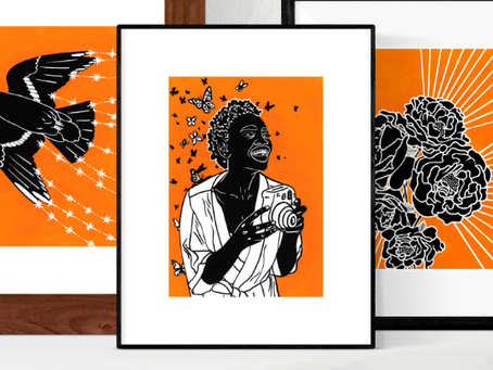 Art prints to help fight human trafficking