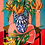 Thumbnail: Moroccan Vase with Two Types of Lilies