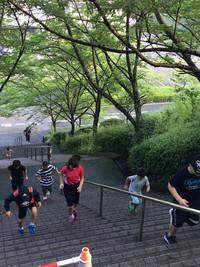 合宿2018階段ダッシュ