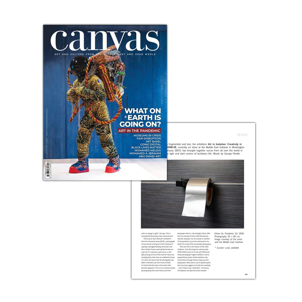 Canvas Magazine   Dubai, UAE