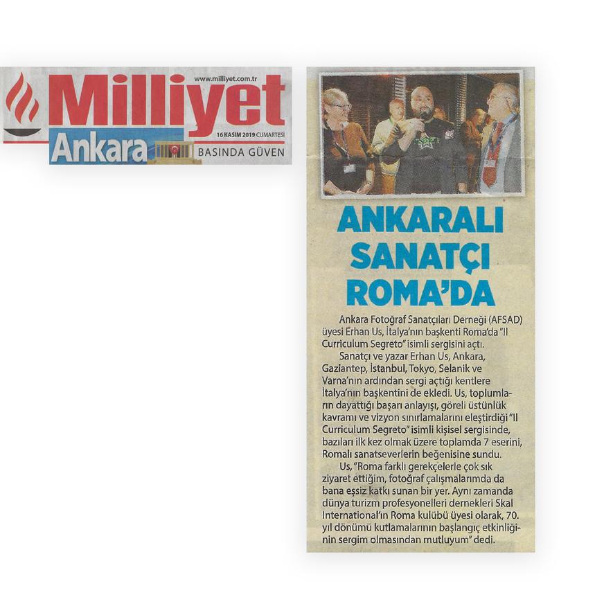 Milliyet Ankara - Il Curriculum Segreto