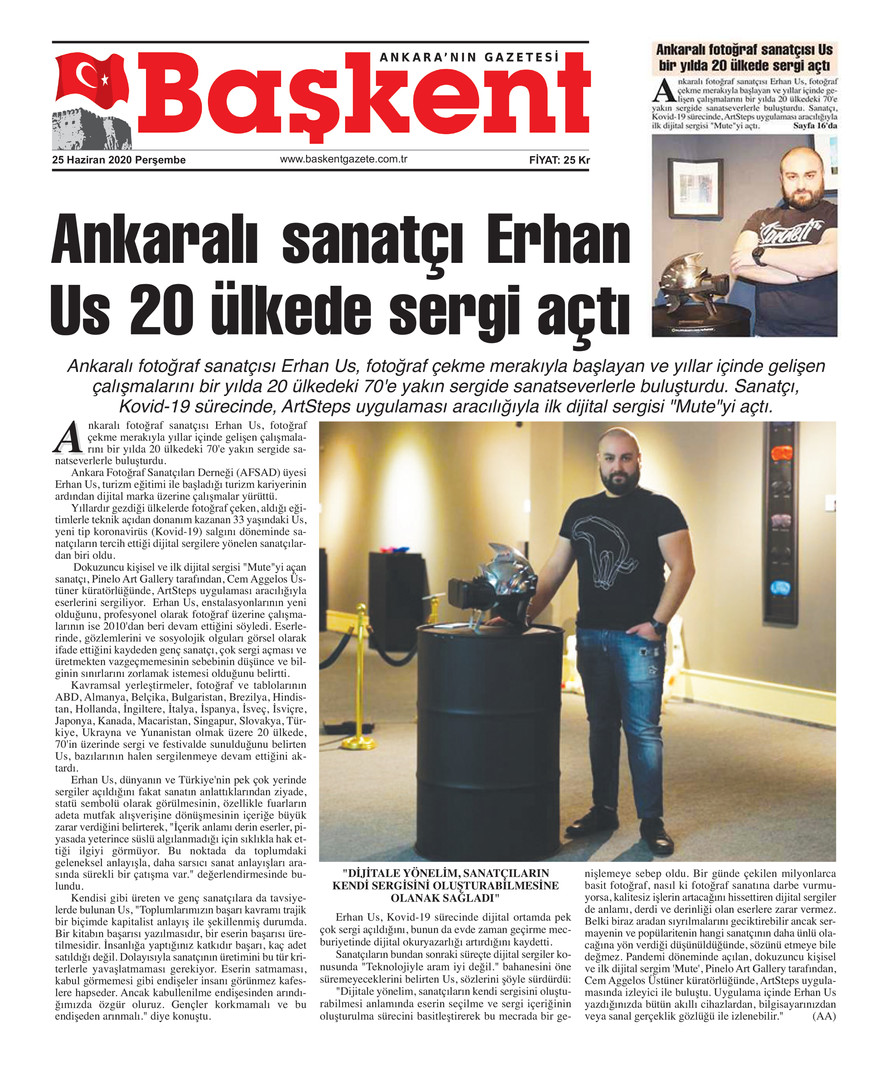 Başkent Ankara - Exhibitions in 20 Count