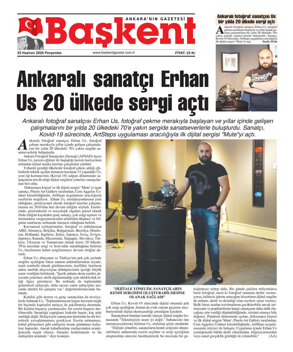 Başkent Ankara - Exhibitions in 20 Count