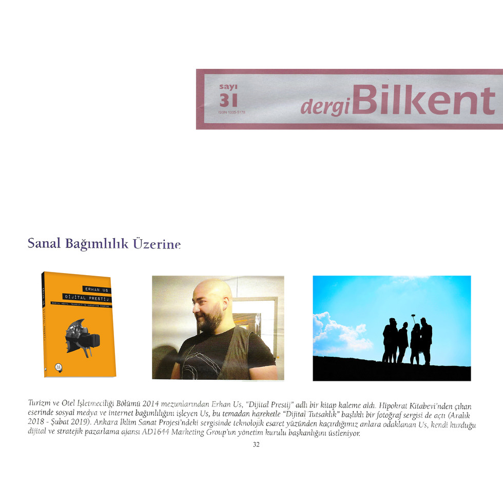 Dergi Bilkent 31 - Dijital Prestij