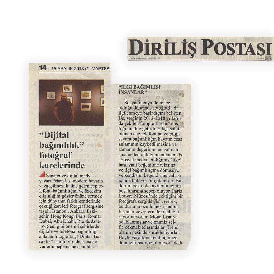 Diriliş Postası - Digital Captivity