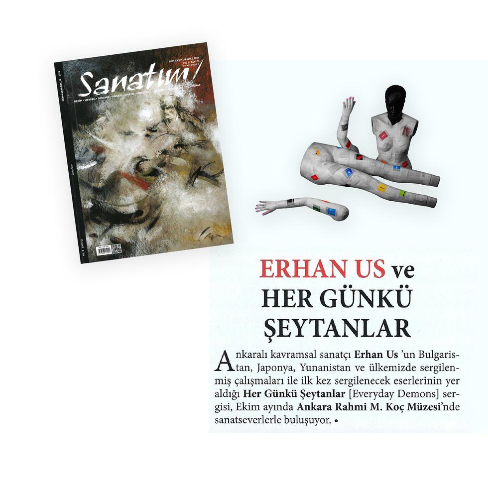 Sanatım Magazine - Everyday Demons