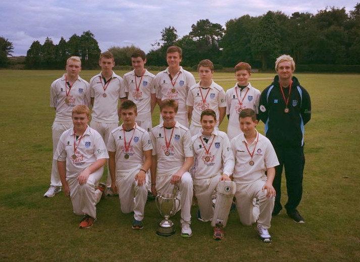 The victorious U15 Team