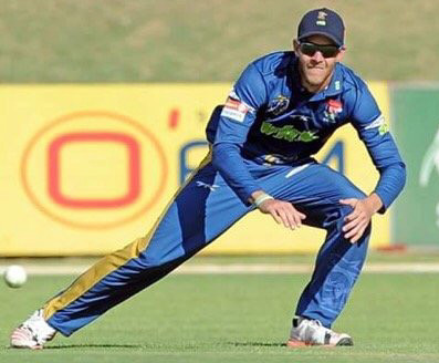 Patrick Botha in action!