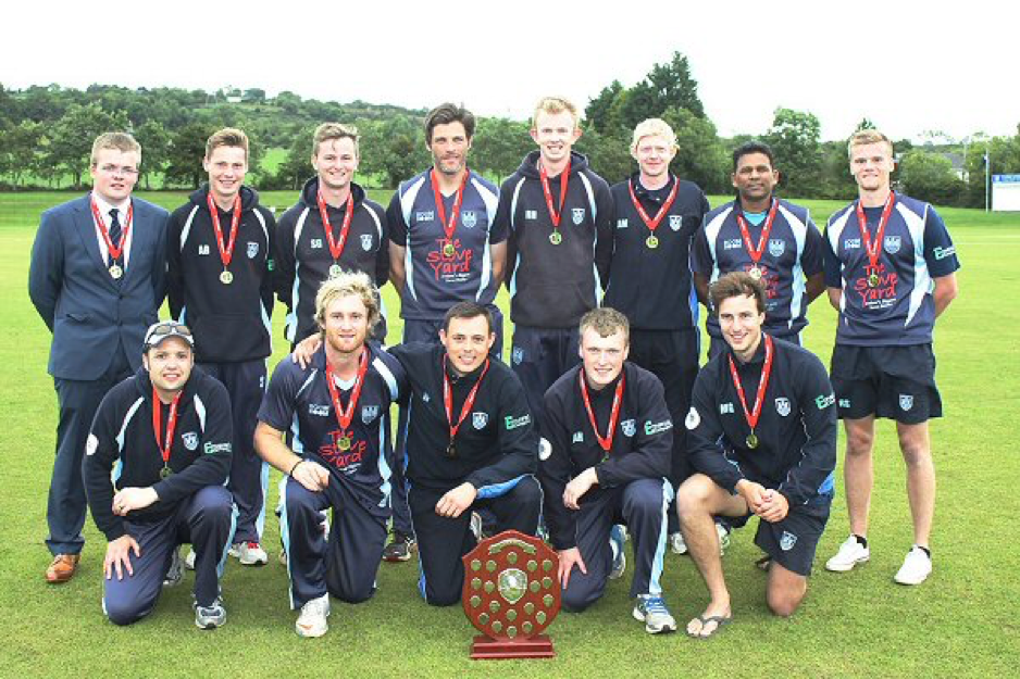 The winning team, pictured with the O'Neill's Ulster Shield.