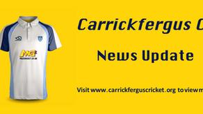 Carrickfergus CC announce McCord signing