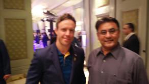 Snehal meets AB de Villiers