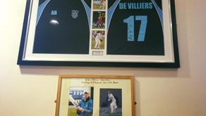 Ton up for Carrick's AB de Villiers