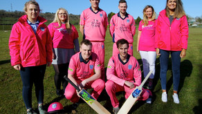 Carrick Cricketers turn Pink for Charity
