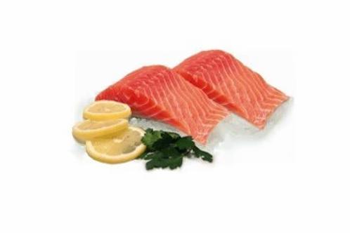 Porzione Salmone abbattuto 1 kg.