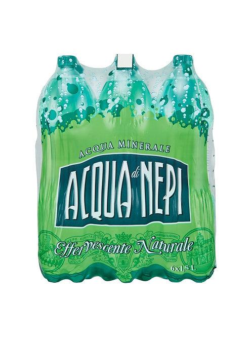 Acqua Di Nepi Effervescente Naturale 6x1,5 lt