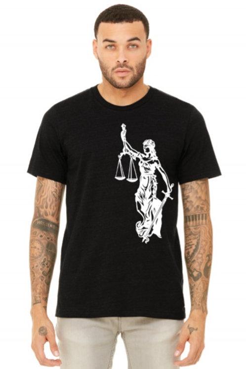 Lady Justice Unisex Tshirt
