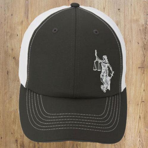 Grey Baseball Hat