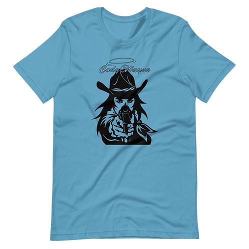 CW Girl With Revolver T-Shirt