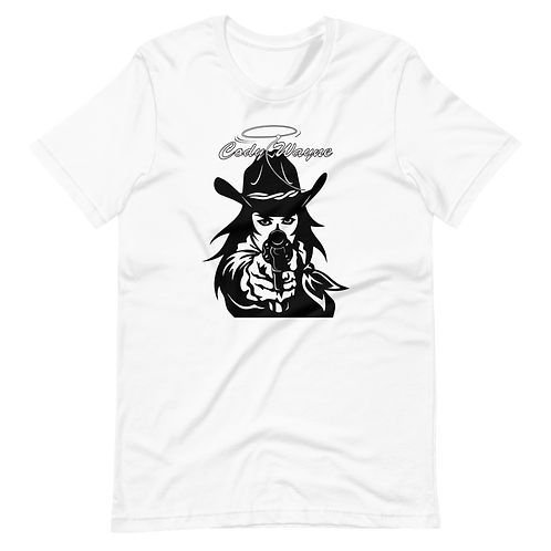 CW Girl With Revolver SS T-Shirt