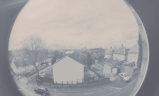 Fish-eye lens photograph of Sneinton