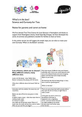 Tots Time Science At Home Explainer Front Page