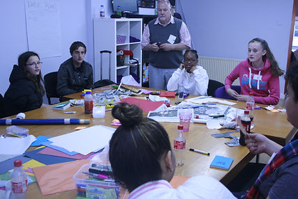 Participants in a workshop