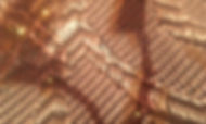 Microscope photograph of clothing