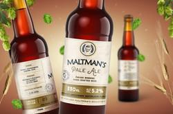 Maltman's beer bottle 1600x1067px 03
