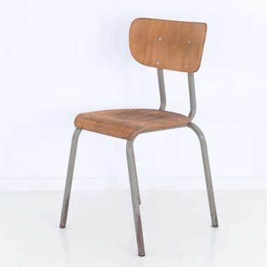 Vintage school chair Semal 1963