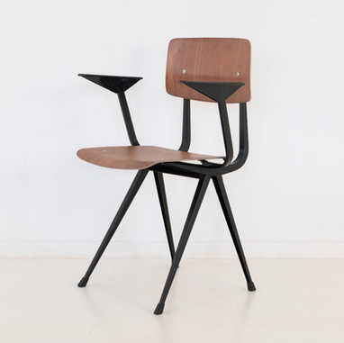 Result chair with armrest 2nd edition black
